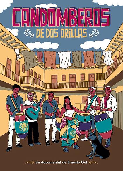 Afiche del documental «Candomberos - De dos orillas» de Ernesto Gut.