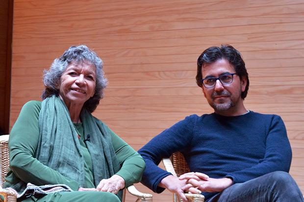 Isabel Parra y Manuel Meriño.