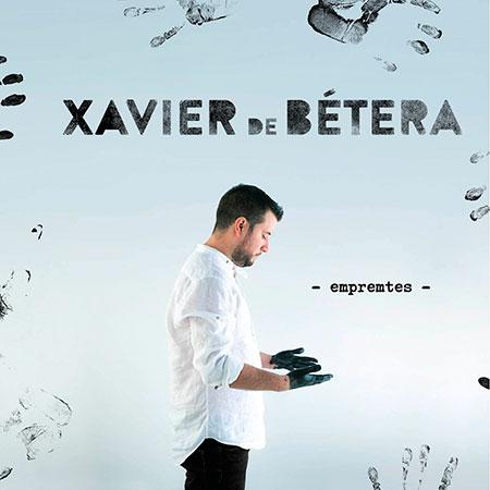 Portada del disco «Empremtes» de Xavier de Bétera.