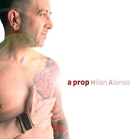 Portada del disco «A prop» de Hilari Alonso.