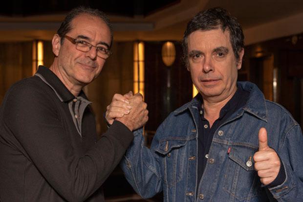 Jorge Fandermole y Fernando Cabrera.