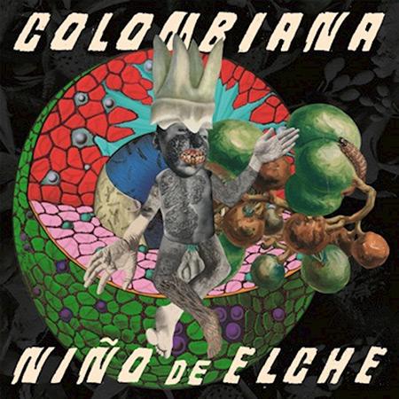 Portada del disco «Colombiana», de El Niño de Elche