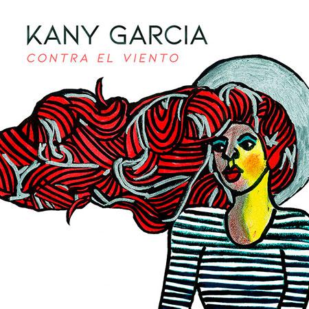 Portada del disco «Contra el viento» de Kany García.
