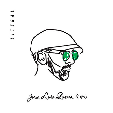 Portada del disco «Literal» de Juan Luis Guerra.