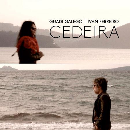 Portada del single «Cedeira» de Guadi Galego e Iván Ferreiro.