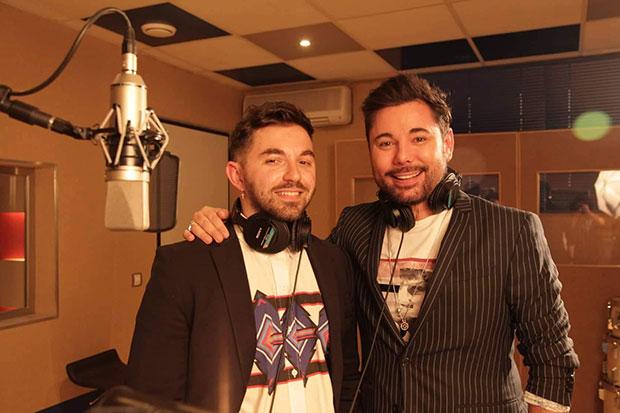Alessio Arena y Miguel Poveda. © Apogeo Records