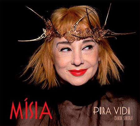Portada del disco «Pura vida (Banda sonora)» de Mísia.