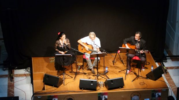 Lourdes Guerra, Luis Pastor y João Afonso. © Mª Gracia Correa