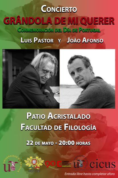 Luis Pastor y João Afonso presentan en Sevilla «Grândola de mi querer».