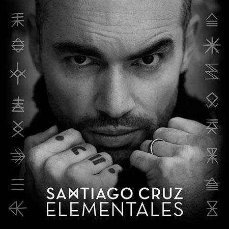 Portada del disco «Elementales» de Santiago Cruz.