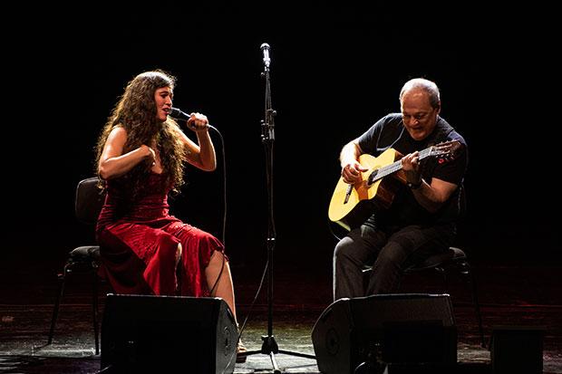 Sílvia Pérez Cruz y Toquinho. © Universal Music Festival 2019