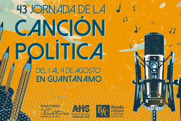 43 Jornada de Canción Política Guantánamo 2019