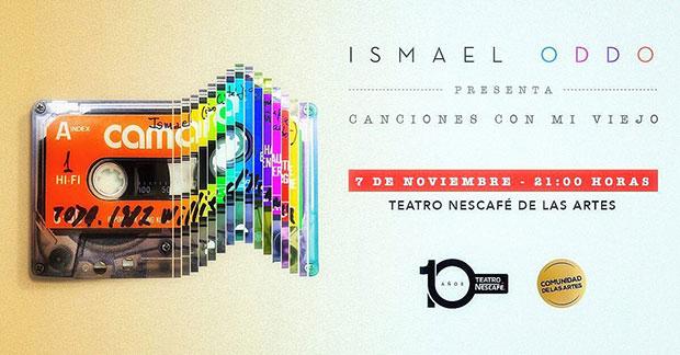 Ismael Oddó presentará «Canciones con mi Viejo» en noviembre.