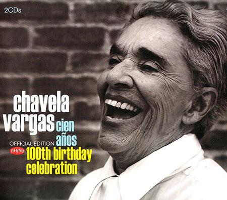 Portada del disco «Chavela Vargas. Cien años» de Chavela Vargas.