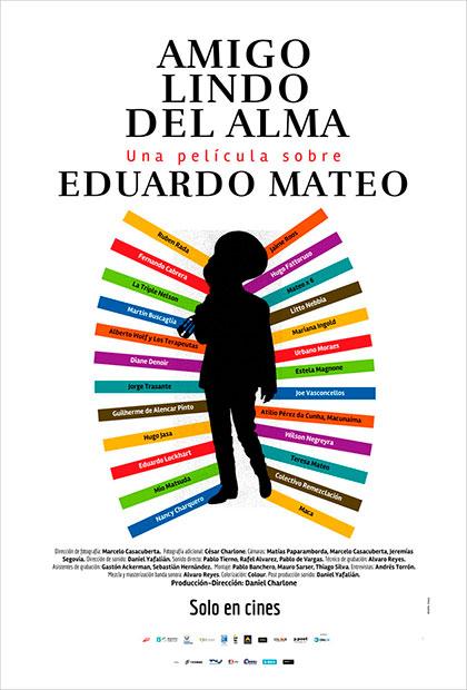 Afiche del documental «Amigo lindo del alma» de Daniel Charlone.