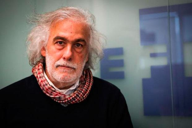 El productor audiovisual uruguayo Daniel Charlone posa durante una entrevista con Efe este viernes 30 de agosto de 2019, en Montevideo (Uruguay). © EFE|Raúl Martínez