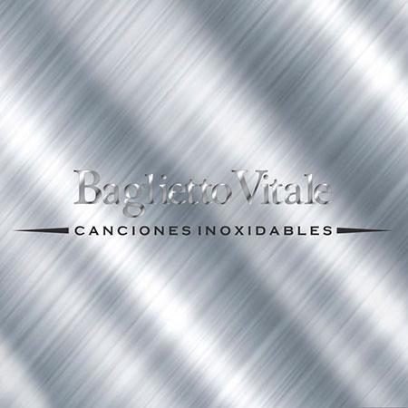 Portada del disco «Canciones inoxidables» de Lito Vitale y Juan Carlos Baglietto.