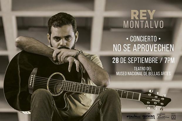 Rey Montalvo presentará su nuevo disco «No se aprovechen».