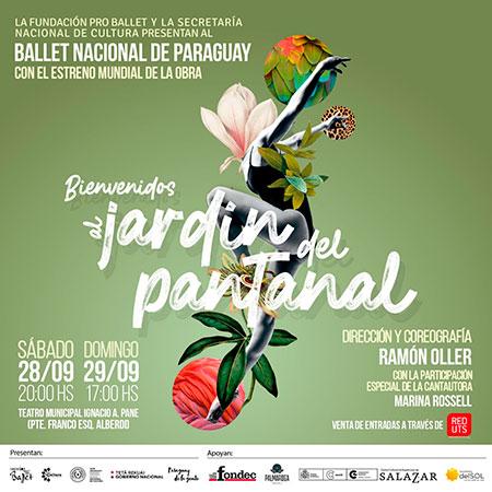 «Bienvenidos al Jardín del Pantanal».