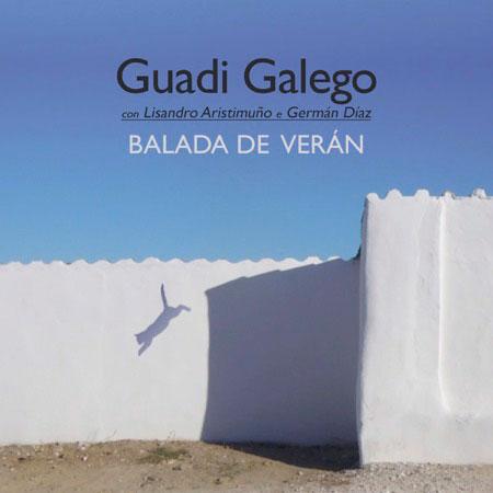 Portada del sencillo «Balada de Verán» de Guadi Galego invita con Lisandro Aristimuño.