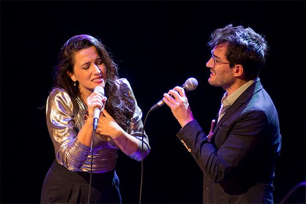 Alba Carmona con Guillem Roma. © Xavier Pintanel