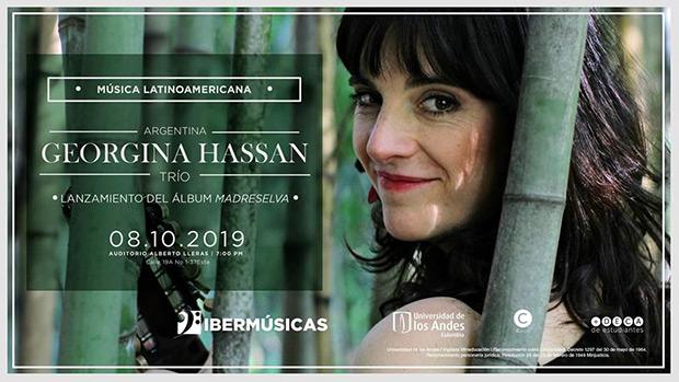 Georgina Hassan inicia junto a su trío una gira que la llevará a Colombia y Chile.