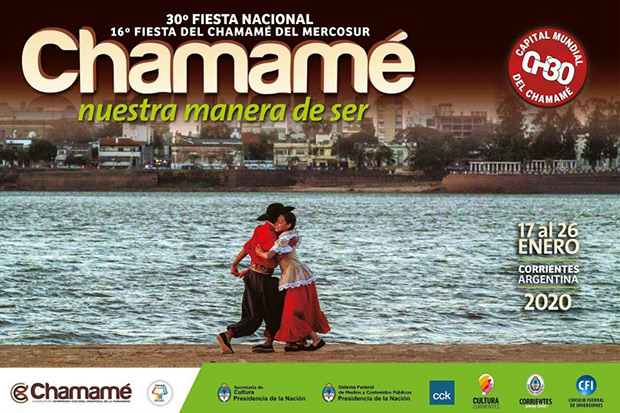 30 Fiesta Nacional del Chamamé 2020.