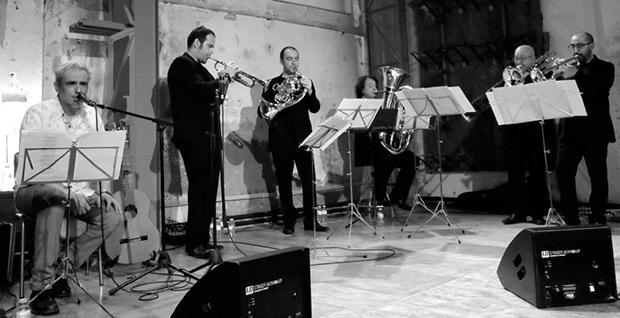Carles Dénia y Spanish Brass. © Angel Tejo