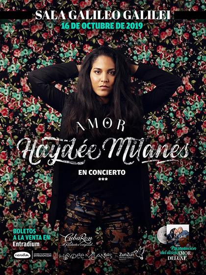 Haydée Milanés regresa a España tras 10 años para presentar su «Amor Deluxe».
