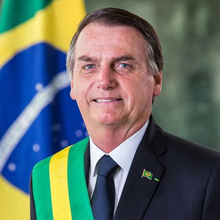 El presidente del Brasil Jair Bolsonaro.
