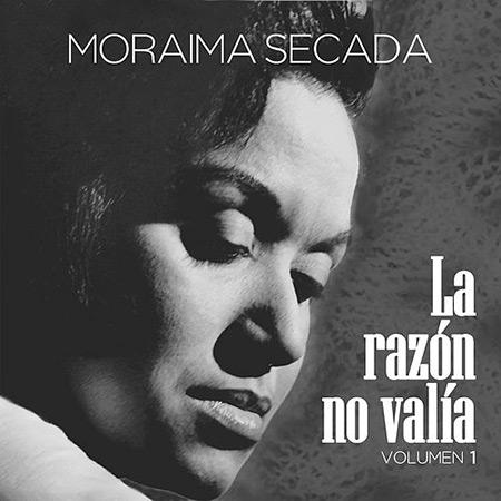 Portada del disco «La razón no valía» de Moraima Secada.