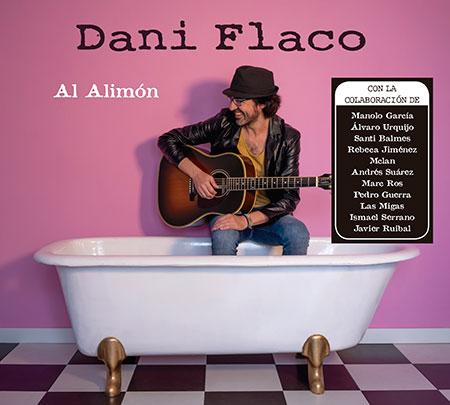 Portada del disco «Al alimón» de Dani Flaco.