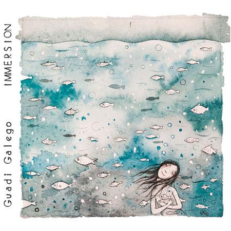 Portada del disco «Immersión» de Guadi Galego.
