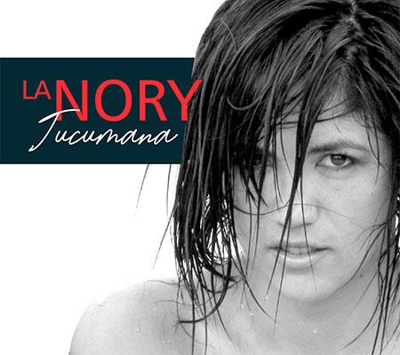 Portada del disco «La Nory tucumana» de Noralía Villafañe.