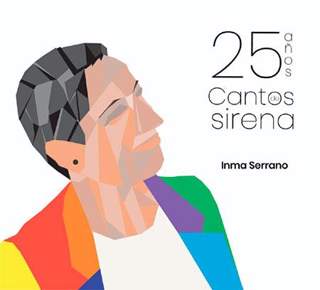 Portada del disco «25 años. Cantos de Sirena» de Inma Serrano.