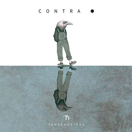 Portada del disco «Contrapunto» de Tanxugueiras.