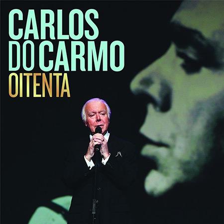 Portada del disco «Oitenta» de Carlos do Carmo.
