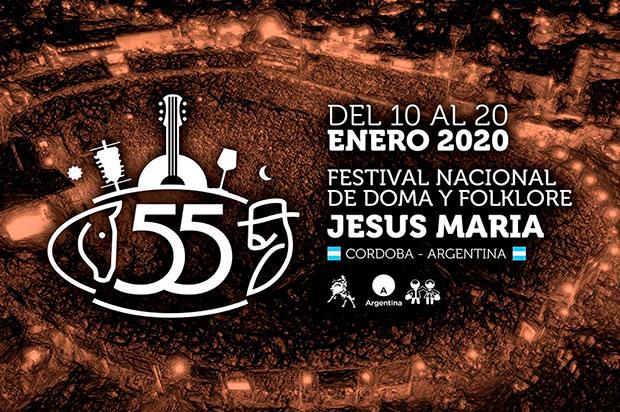 55 Festival Nacional de Doma y Folclore de Jesús María 2020.