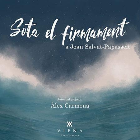 Portada del disco-libro «Sota el firmament» de Àlex Carmona.