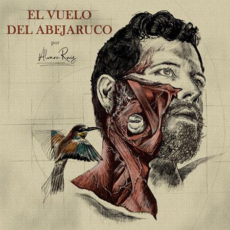 Portada del disco «El vuelo del abejaruco» de Álvaro Ruiz.