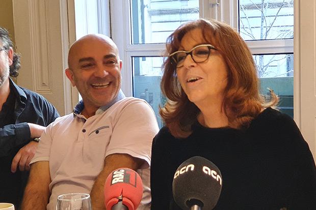 Toni Cuenca y Maria del Mar Bonet. © Xavier Pintanel