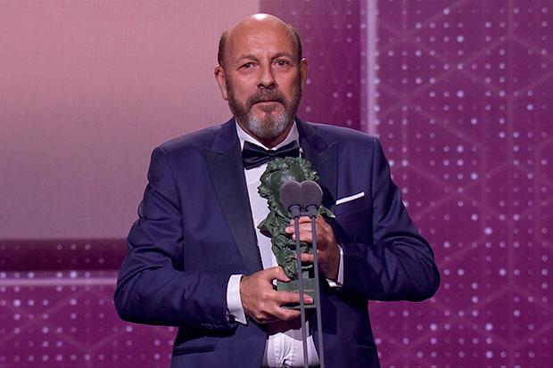 Javier Ruibal gana el Goya a la mejor canción original. © RTVE