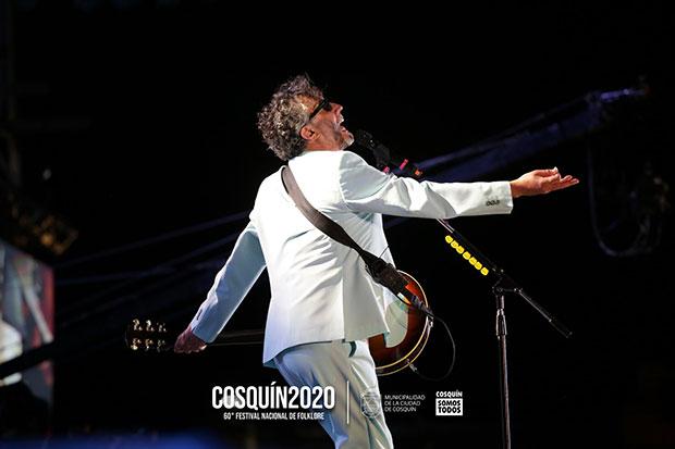 Fito Páez. © Festival Nacional de Folclore de Cosquín