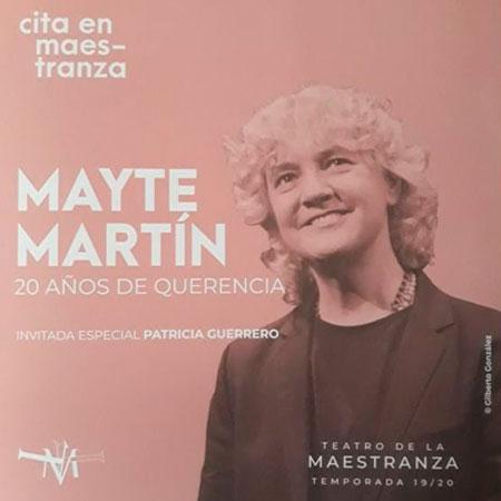 Mayte Martín. 20 años de Querencia.