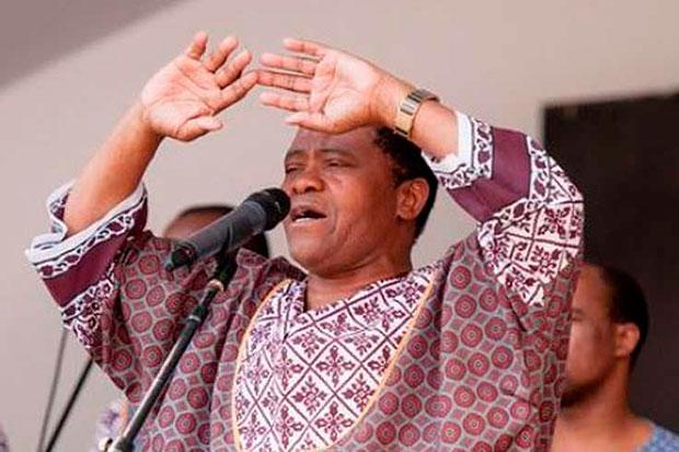 Joseph Shabalala de Ladysmith Black Mambazo.