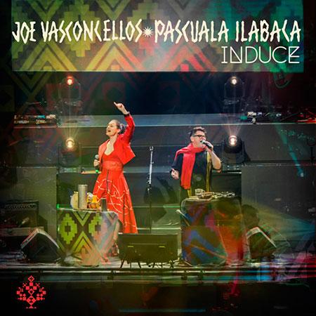 Portada del single «Induce» de Joe Vasconcellos junto a Pascuala Ilabaca.