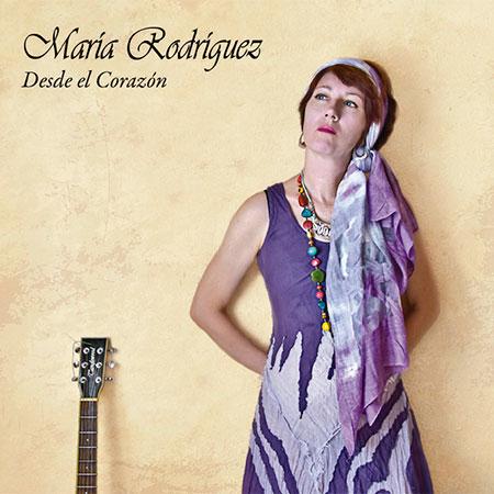Portada del disco «Desde el Corazón» de María Rodríguez.