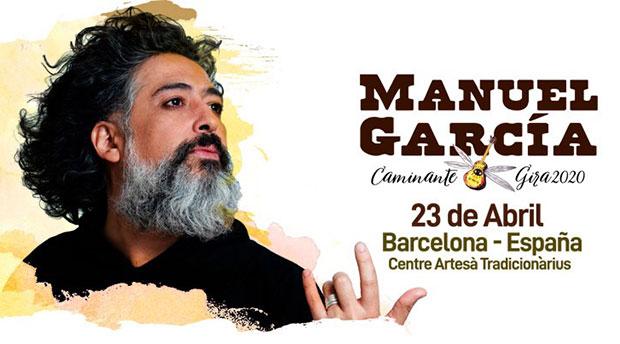 Manuel García sigue con su gira «Caminante» por Europa y Perú.