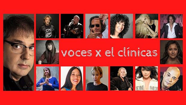 Catorce voces argentinas dirigidas por Lito Vitale le cantan al personal sanitario.