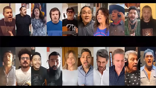 León Gieco, El Chaqueño y Patricia Sosa, entre otros, graban versión de «Solo le pido a Dios».